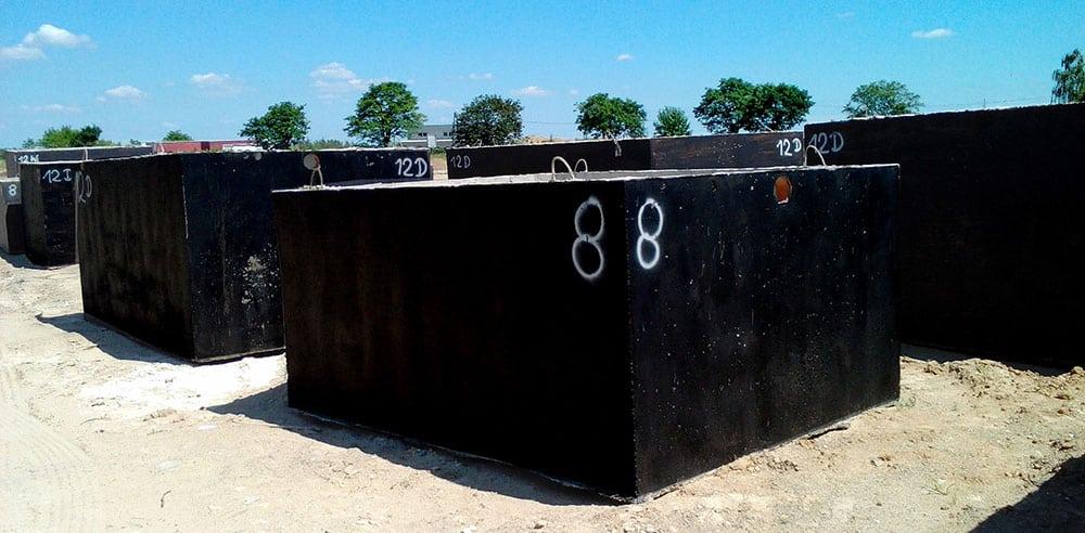 zbiorniki na szambo betonowe Łódź