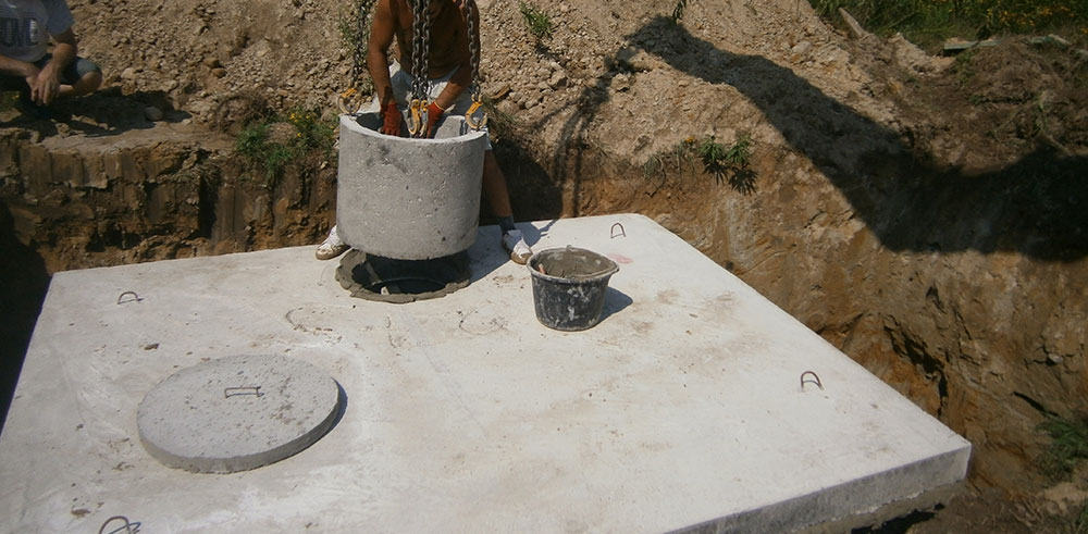 betonowe szamba cena z montażem