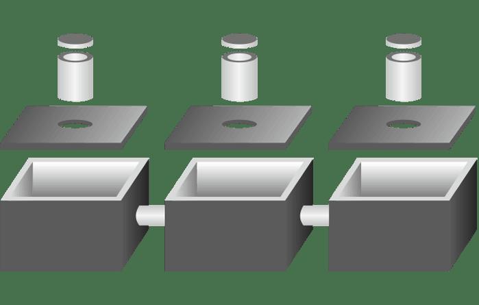 Zbiorniki trójkomorowe