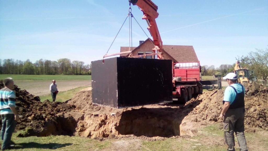 Szamba betonowe jednokomorowe