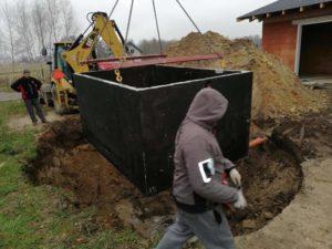 szambo betonowe dwukomorowe zasada działania