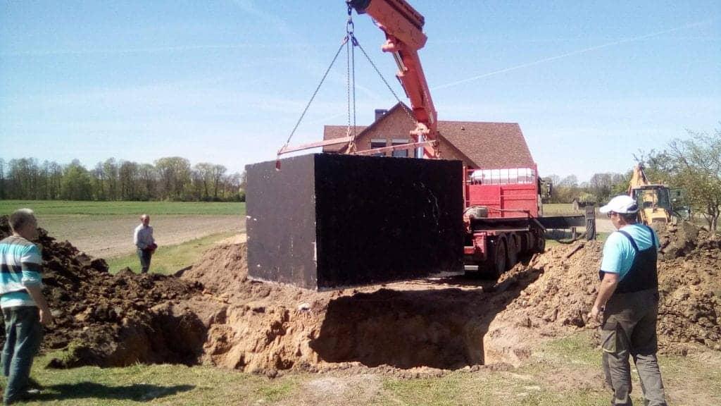 Szambo betonowe 4m3