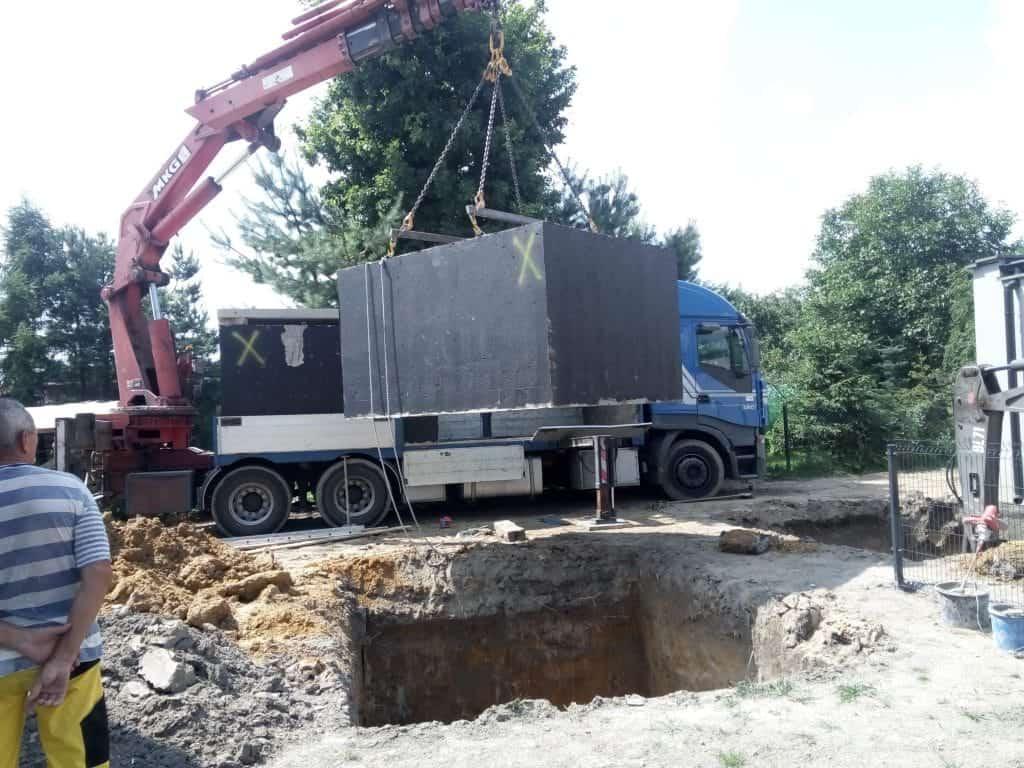 szambo betonowe 12m3
